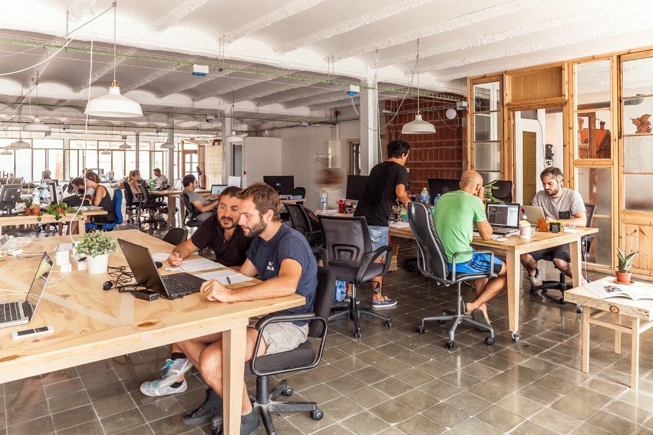 L'ambiance dans un espace de coworking