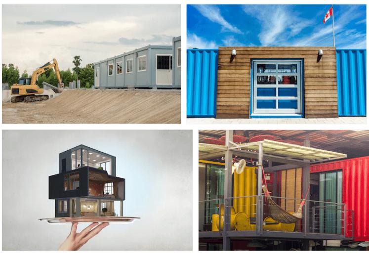 maison container cl en main trendy prix d une maison. Black Bedroom Furniture Sets. Home Design Ideas
