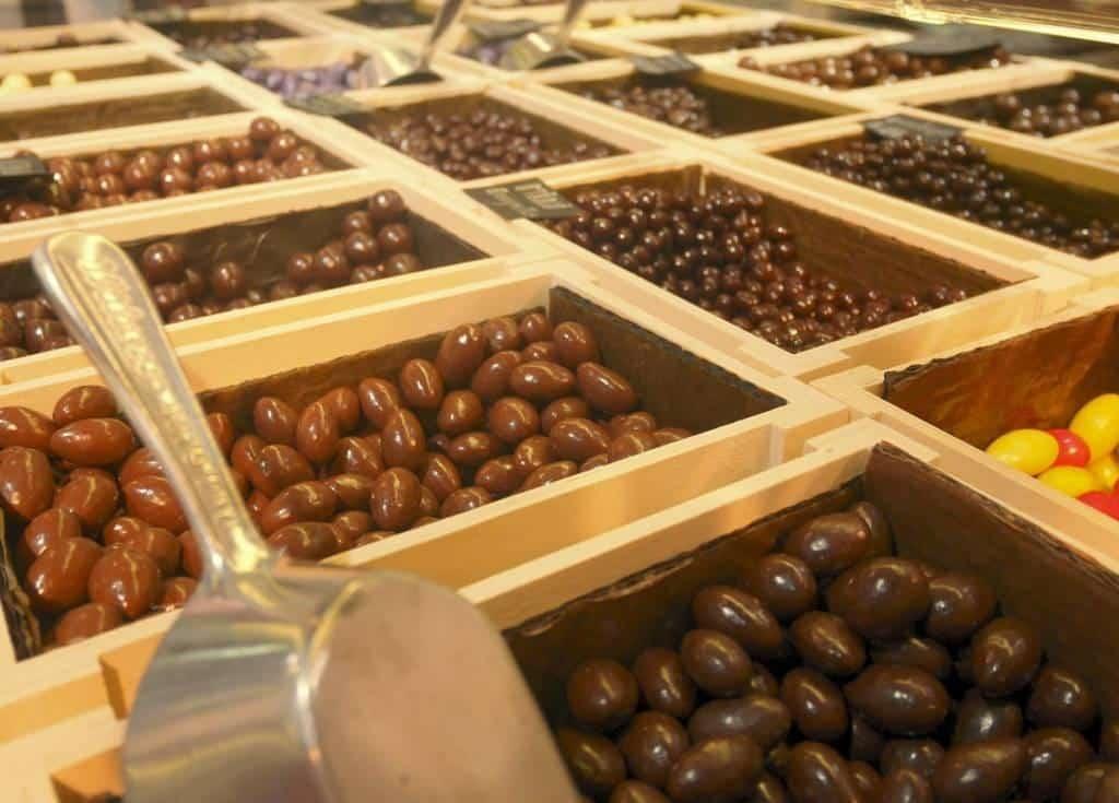 offrir des chocolats